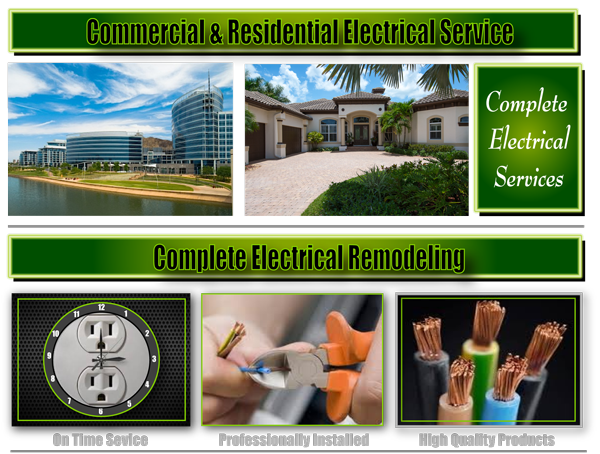 Commercial & Residential Electrical Service, Phoenix Electrical Service, Shocky Electric, Electrician Repair, Handyman Electrical Service