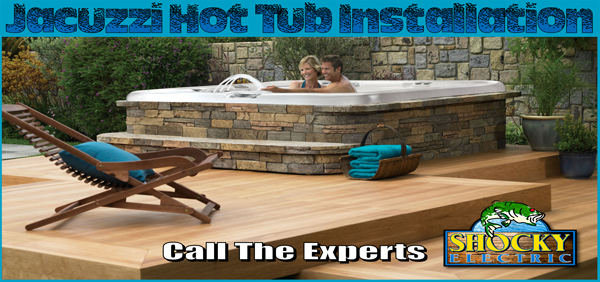 Shocky Electric, jacuzzi install meas arizona, hot tub installation, scottsdale hot tub installer, electrician install jacuzzi